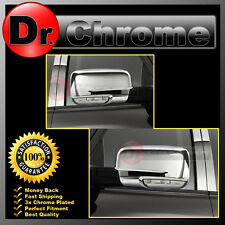 13-17 Dodge Ram w/Turn Light Chrome plated Full ABS Mirror Cover Pair 2013-2017