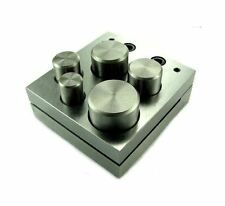 """5pc Mazbot Jewelry Metal Disc Cutter Punches UP TO 1"""""""