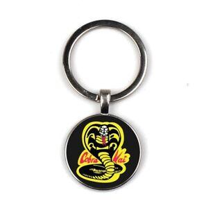 Cobra Kai Key Ring Karate Kid Movie Retro Martial Arts Kung Fu Film Key Chain