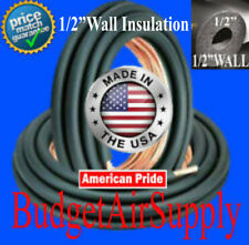 "3/4 x 3/8 (1/2""wall INSULATED) copper line set x 25FT -LINESET MADE IN THE USA-"