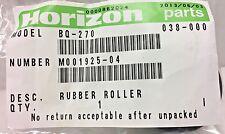 Horizon, M001925-04, Rubber Roller, BQ-270 Perfect Binder (OEM / NEW)