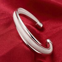 beautiful Fashion charms nice hot silver Plated Women Dream bangle Bracelet