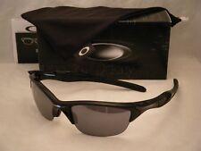 Oakley Half Jacket 2.0 Polish Black w Black Iridium Lens NEW (oo9144-01)