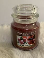 Yankee Candle Luscious Plum 14.5 oz NEW