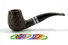"SAVINELLI ""DESIGUAL"" RUSTIC 628 CHUBBY BENT PIPE ** NEW in BOX ** incl. ADAPTER"