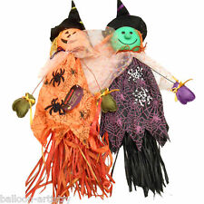 """28"""" Haunted Halloween Party Spooky Straw Character Hanging Prop Decoration"""