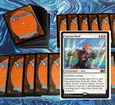 mtg WHITE TAPS DECK Magic the Gathering 60 cards + spectra ward adarkar valkyrie