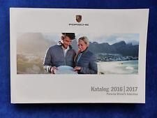 Porsche Driver's Selection - Katalog 2016/2017 - Prospekt Brochure 04.2016