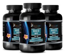 Cranberry Capsules - WATER AWAY PILLS - Make Your Skin Glow - 3 Bottles