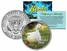 DOMESTICATED DUCK *Collectible Birds* JFK Kennedy Half Dollar Colorized US Coin