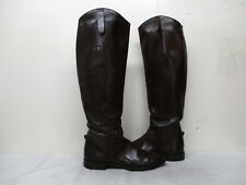 Paddock Shop Brown Leather Womens Equestrian RIding Boots