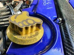 No Good Racing oil cap gold genuine JDM kanjo Civic EK9 EF9 EG6 super rare!!
