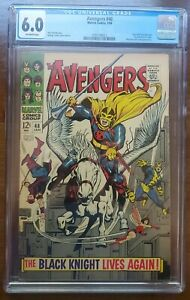 Avengers #48 CGC 6.0 1968 1st app. Black Knight ETERNALS