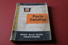 OLIVER models 1850 and 1950 tractors PARTS CATALOG list/manual