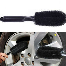 1Pc Black Auto Car Truck Motorcycle Bike Wheel Tire Rim Scrub Brush Washing Tool