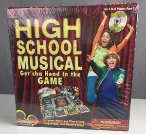 High School Musical Play Along Sing Along Dance Along CD Board Game Disney