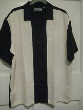 NEW Authentic CUBAVERA Charlie Sheen Camp Shirt Men's Size Large S/Sleeve  $68