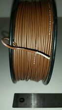 ( 500 FT Spool ) Allied Wire M22759/14-14-1 14Awg Brown Cable Wire 19/27 600V