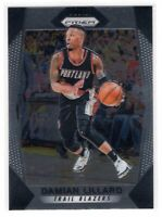 2017-18 Panini Prizm Basketball Base Card Damian Lillard #141 Trail Blazers
