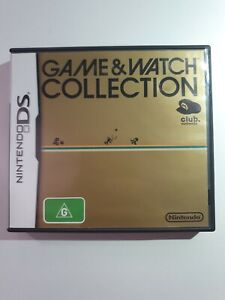 CASE ONLY - Game & Watch Collection Club Nintendo Exclusive Nintendo DS PAL