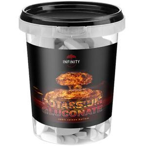 KALIUM - POTASSIUM GLUCONATE 280 Tabletten / Diät Entgiftung Darmreinigung VEGAN