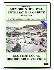 DVD Royal Rothesay Isle of Bute 1920 to 1990 Scotland Clyde Archive History DVD