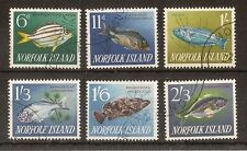 Fish British Norfolk Islander Stamps