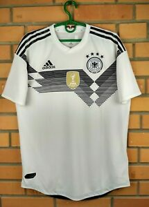 Germany Jersey Player Issue 2018 2019 Adidas Home MEDIUM Shirt Soccer Football