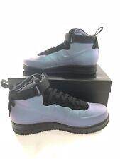 Nike Mens Air Force 1 Foamposite Cup AH6771-002 Light Carbon Black Size 12