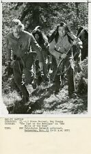 STEVE FORREST DON SHANKS THE LAST OF THE MOHICANS ORIGINAL 1976 NBC TV PHOTO