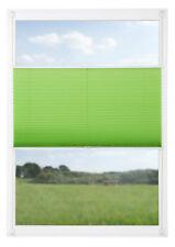 Klemmfix Plissee apfel grün Laholm Thermo Sonnenschutz Klemmplissee ab 40 cm