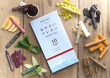 Vegetable Crayons  Made of Real Vegetable Non-toxic Safe for Kids made in Japan