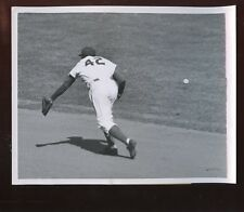 Original Oct 6 1952 Jackie Robinson Brooklyn Dodgers World Series Wire Photo