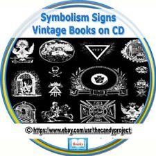 Symbolism Religion Sacred Art Spiritual Religious Freemasons Vintage Books DVD