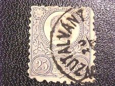 SCARCE 1872 Hungary Canc/H Postage Stamp 25 Kr H280