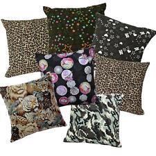Pillow Cover*Modern Cotton Canvas Sofa Seat Pad Cushion Case Custom Size*AL2