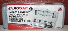 NEW AUTOCRAFT AC683 6 PIECE IMPACT DRIVER SET ~120~