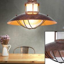 Glas Wand Tisch Lampen beige Landhaus Stil Decken Pendel Leuchten verstellbar