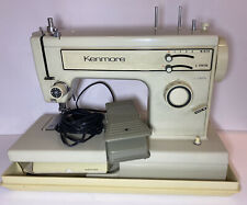 EUC Vintage Sears Kenmore Model Sewing Machine 158-12311