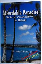 #JL4, H Skip Thomsen AFFORDABLE PARADISE, SC VGC 2nd ed