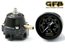 GFB FX-S Series Adjustable Fuel Pressure Regulator & Gauge 1:1 Rise Rate 2-5 Bar
