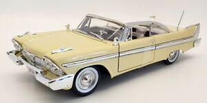 Motor Max 1/18 Scale #73115TC - 1958 Plymouth Fury - Yellow