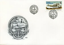 Czech Republic 2018 FDC Paddle Steamer Vltava 1v Set Cover Boats Ships Stamps