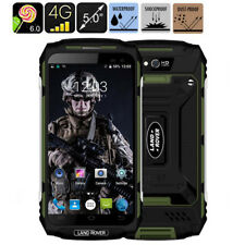 """5"""" Quad Core 4G Smartphone LAND ROVER X2 Waterproof Rugged Cell phone Green NEW"""
