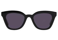 NEW LE SPECS High Jinks Black Smoke Mono Square Cat Eye Sunglasses RRP £90