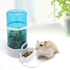 Pet Food Drink Dispenser Hamster Small Animal Feeder Water Bowl Auto Dishes Tool