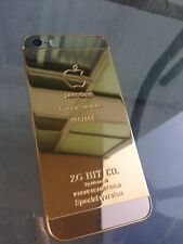 iPhone 5S Gold Plated 24kt Edition Unlocked
