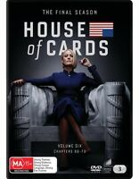 House Of Cards - Season 6 FINAL : NEW DVD