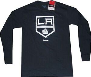 Los Angeles Kings Reebok Primary Logo Mens Long Sleeve T Shirt New tags