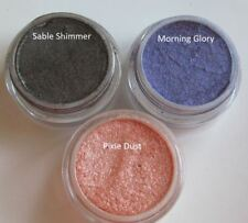Sweetscents Loose Mineral Makeup 3 Shimmer Eye Shadow Sable Brown Purple Peach